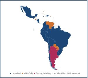 LTE - 5G in CaLA - Central & Latin America