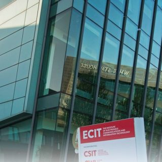 QUB ECIT Building in Belfast (landscape)